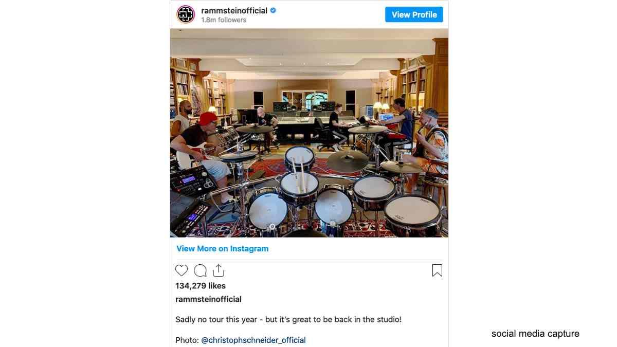 Rammstein Confirm Studio Return