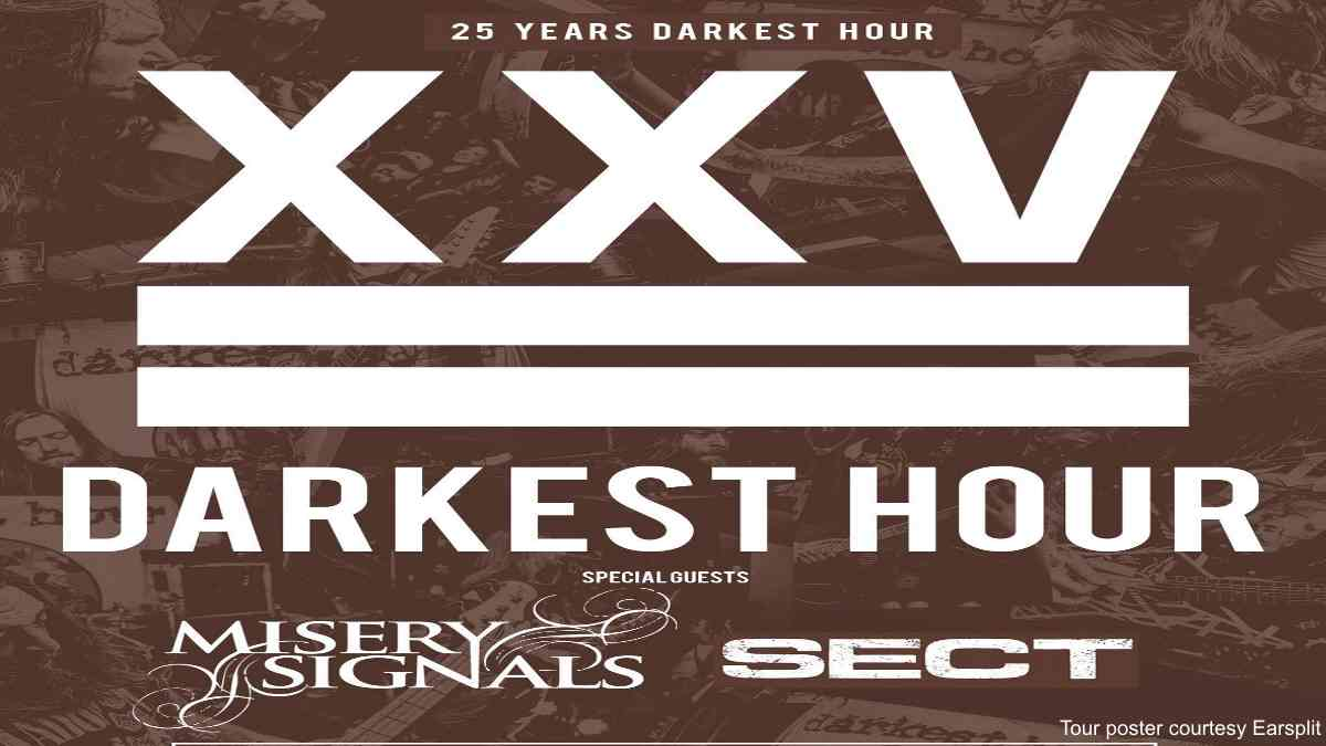Misery Signals And Darkest Hour Cancel Tour and Announce Livestream