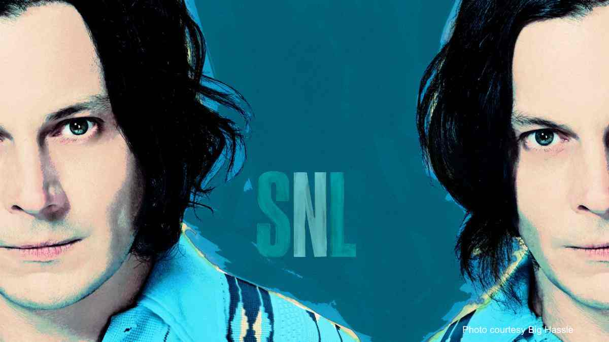 Jack White Tributes Eddie Van Halen On SNL