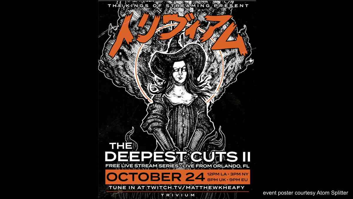Trivium Announce Free The Deepest Cuts II Livestream