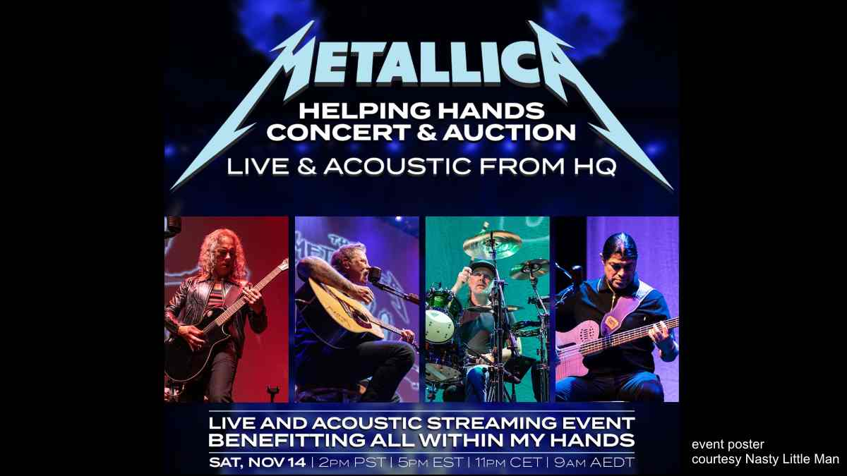 Metallica Unplugging For Special Livestream