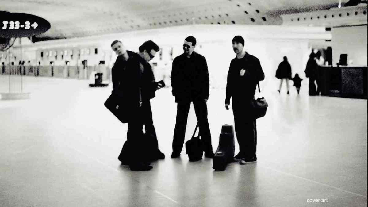 U2 Share 2001 Performance Of 'Beautiful Day'