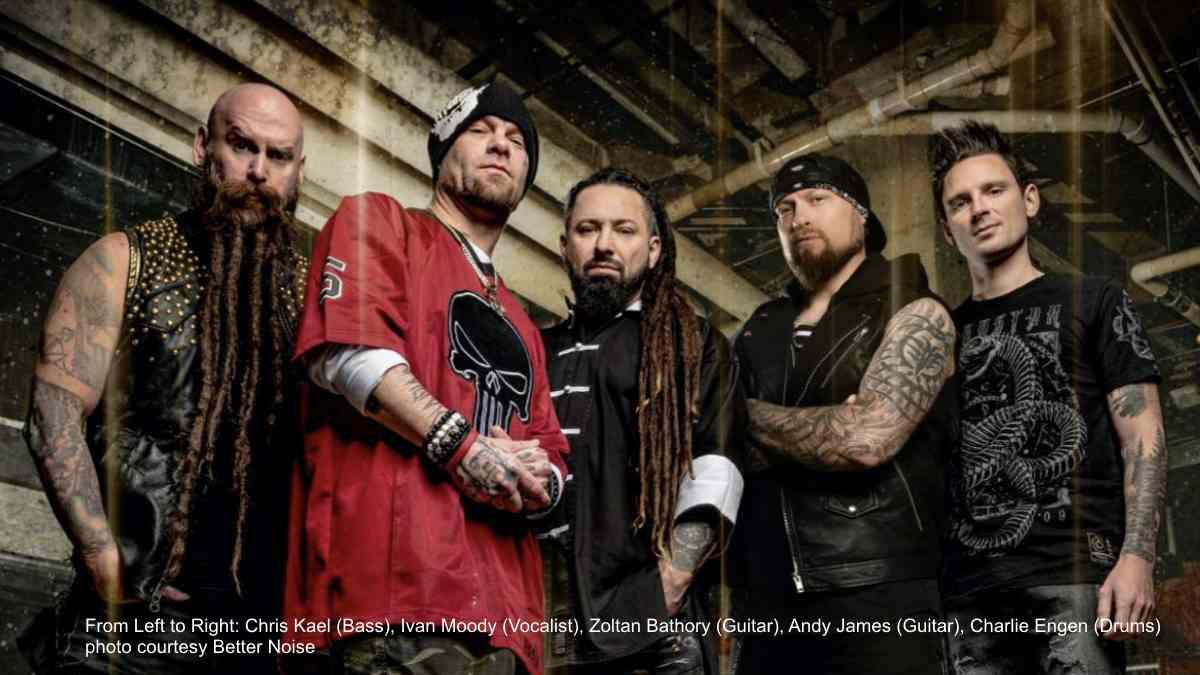 Five Finger Death Punch Replace Jason Hook