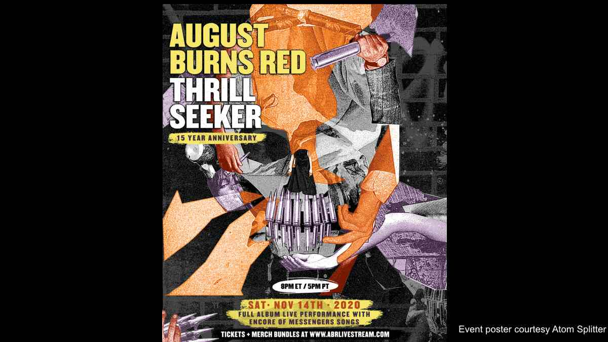 August Burns Red Announce Anniversary Livestream