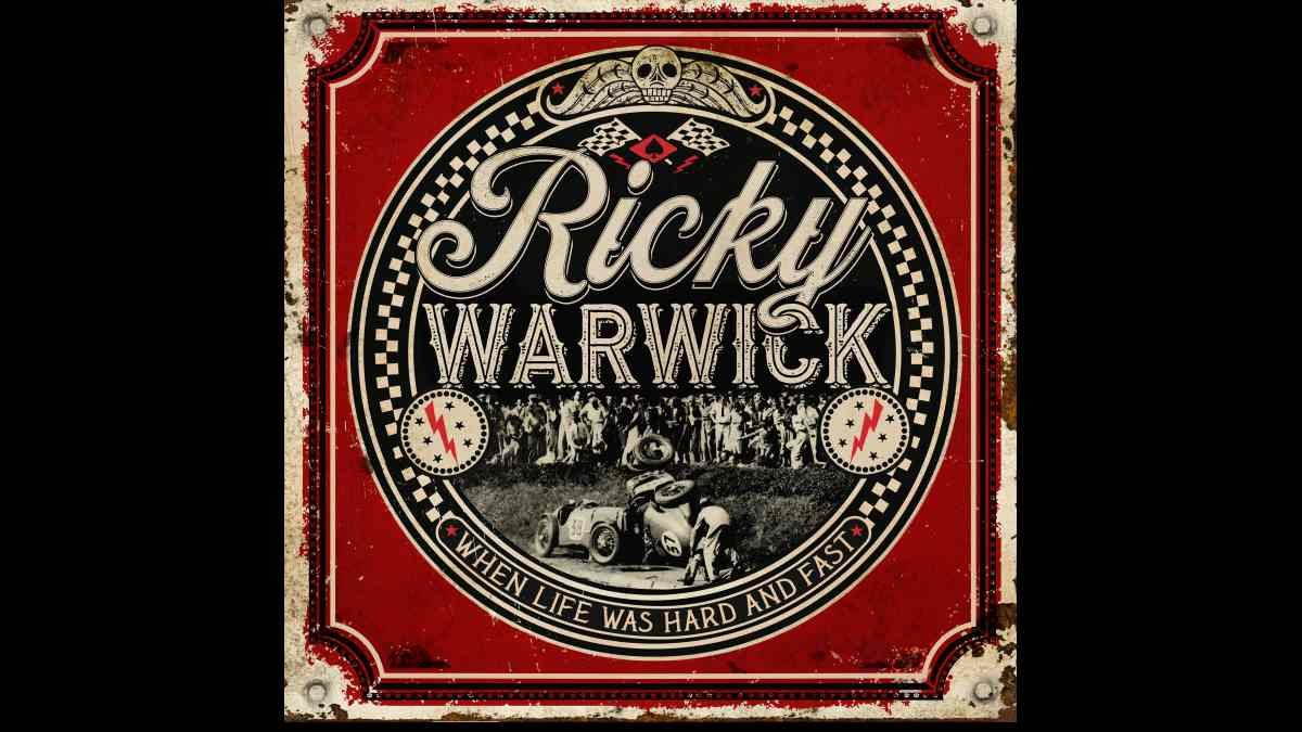 Ricky Warwick Releases 'Fighting Heart' Video and Announces Album