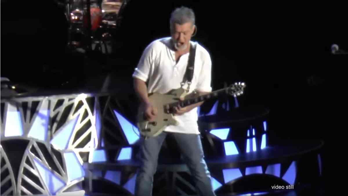 Final Eddie Van Halen Live Performance Shared Online