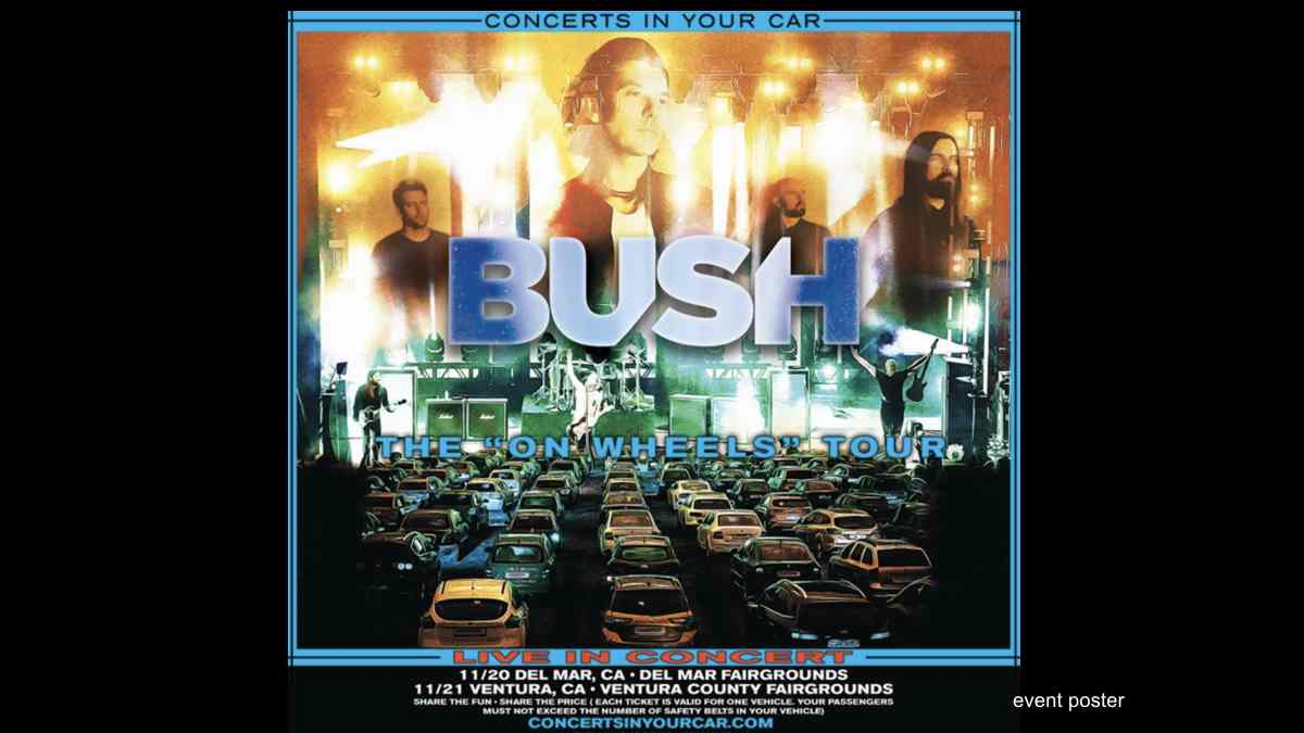 Bush Announce Drive-In Concerts