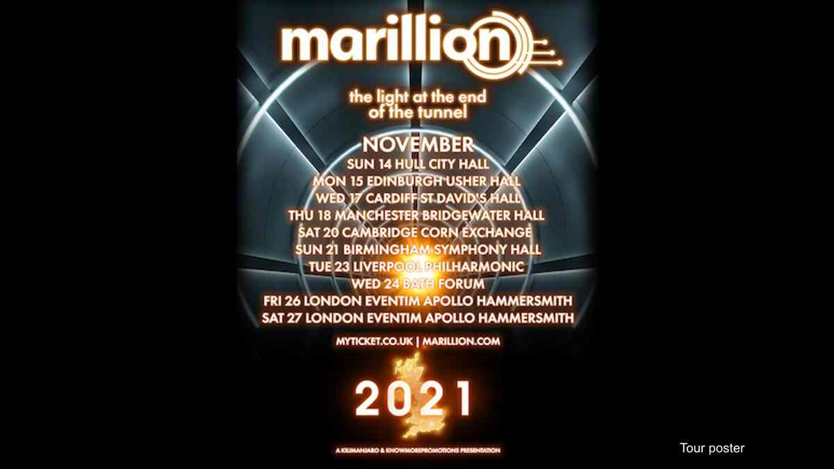 Marillion Announce The Light At The End Of The Tunnel Tour