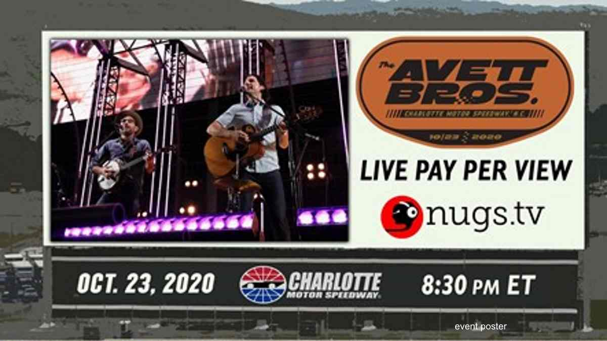 The Avett Brothers Announce Second Charlotte Motor Speedway Event