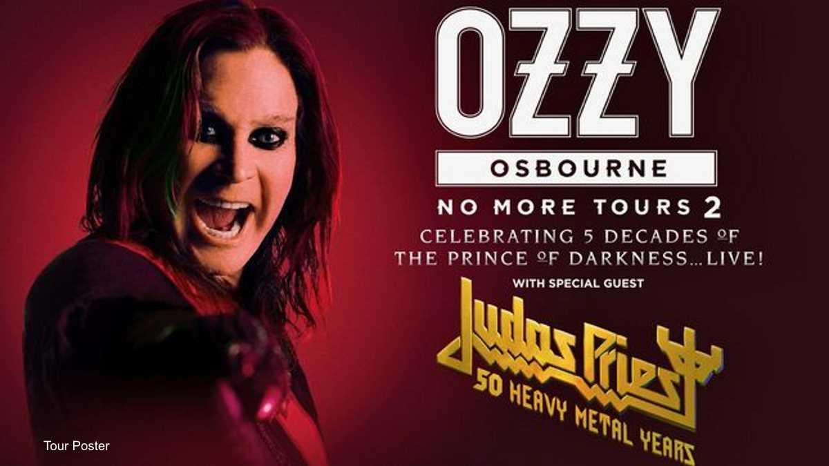 Ozzy Osbourne And Judas Priest Reschedule Tour