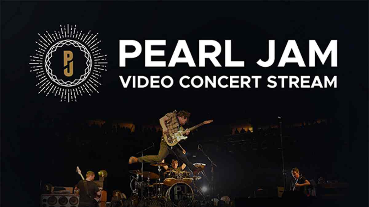 Pearl Jam Share Video From 'Ten' Show Webcast
