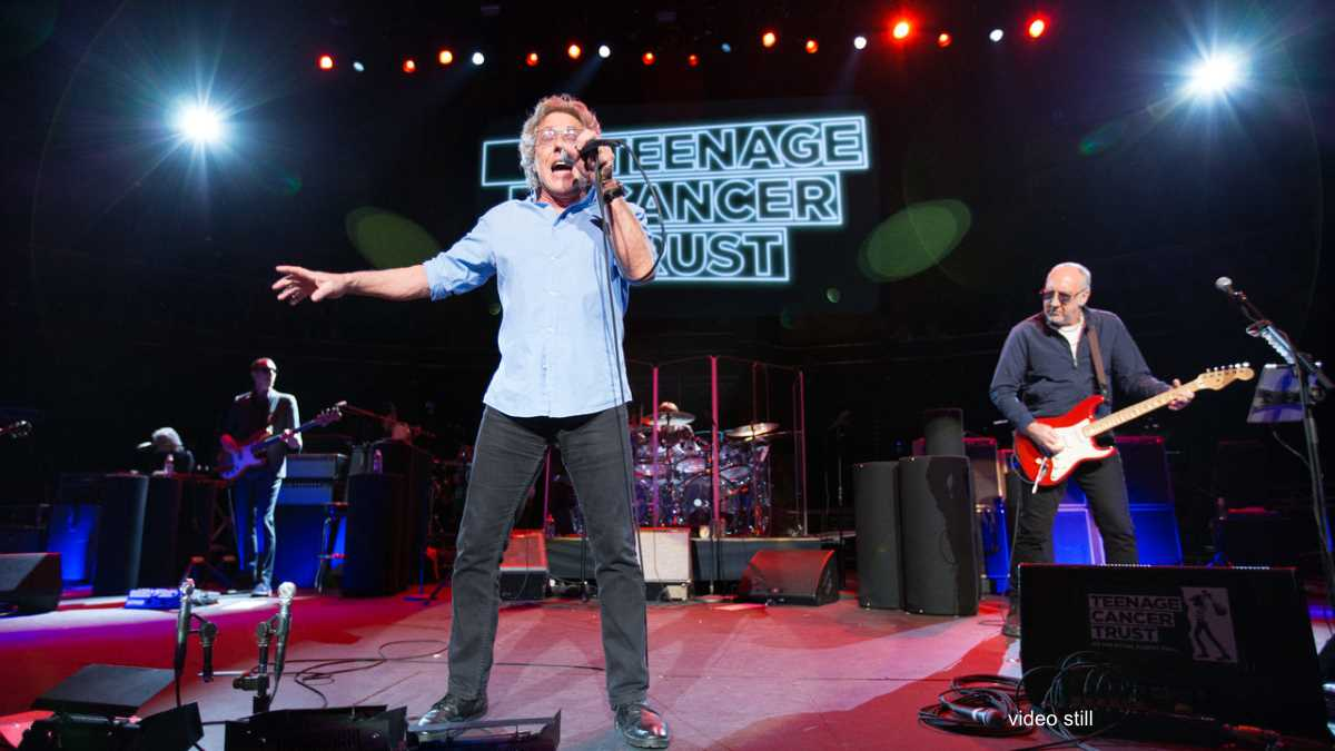 The Who Premiere Unreleased Royal Albert Hall Concert Footage