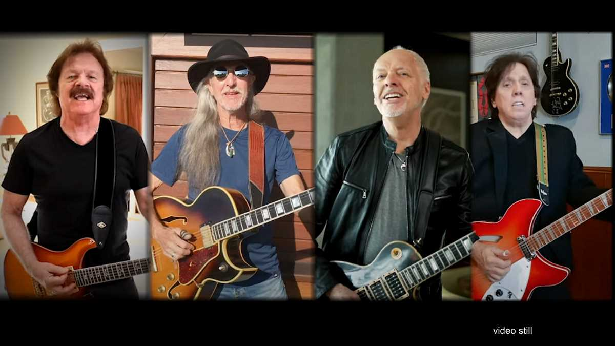 Peter Frampton And The Doobie Brothers Team Up For Isolation Jam