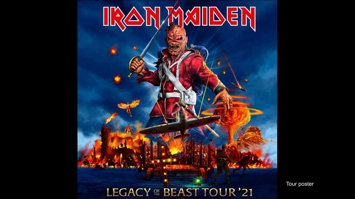 Iron Maiden Expand Legacy Of The Beast Tour