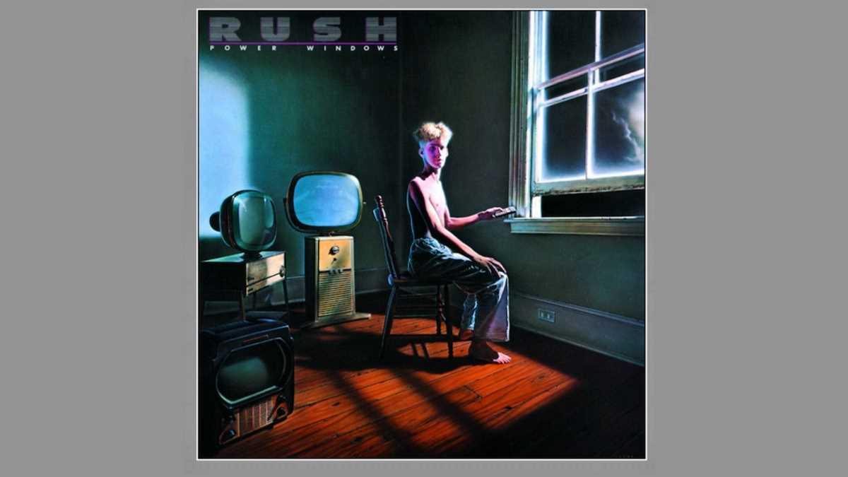 Rush In The Studio For 'Power Windows' 35th Anniversary