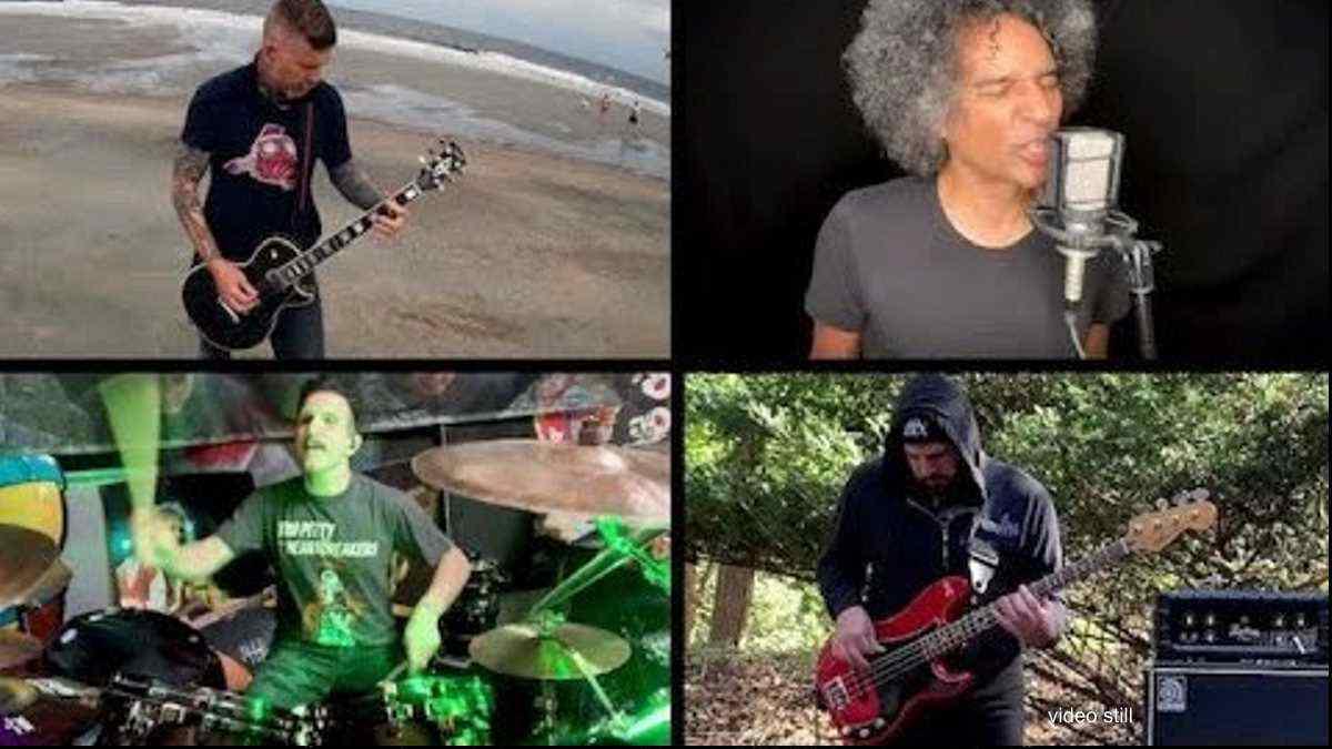 Anthrax, Alice In Chains, Mastodon Stars Jam Soundgarden Classic
