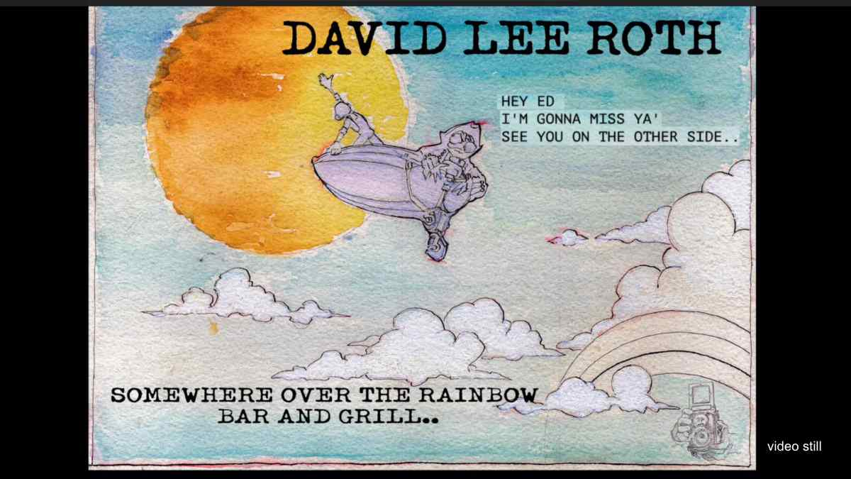 David Lee Roth Tributes Eddie Van Halen With Unreleased Song