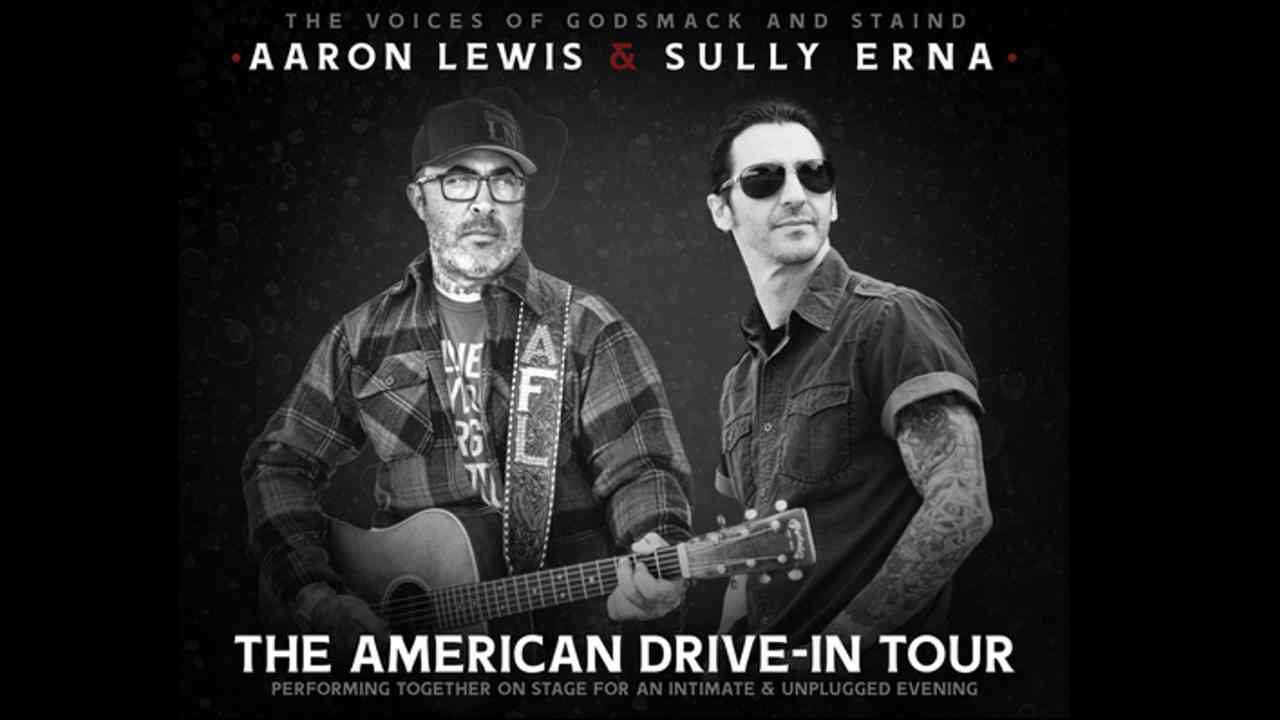 Aaron Lewis and Sully Erna Announce The American Drive-In Tour