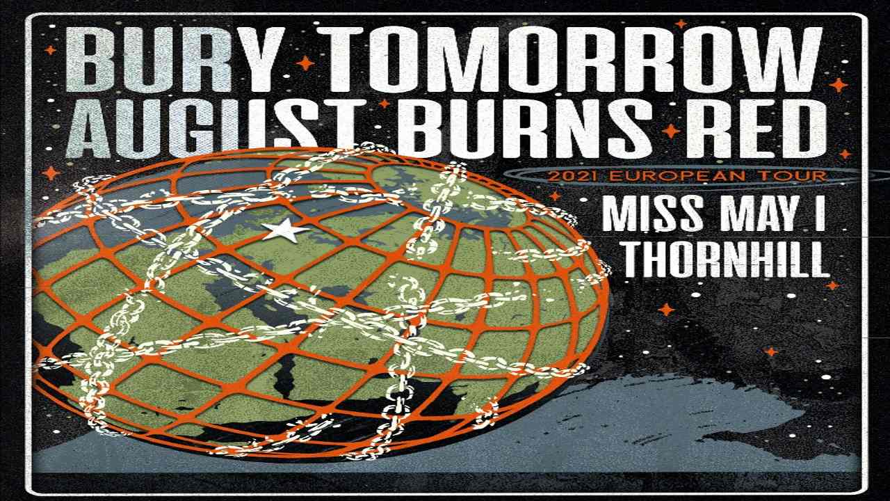 August Burns Red and Bury Tomorrow Coheadlining Tour