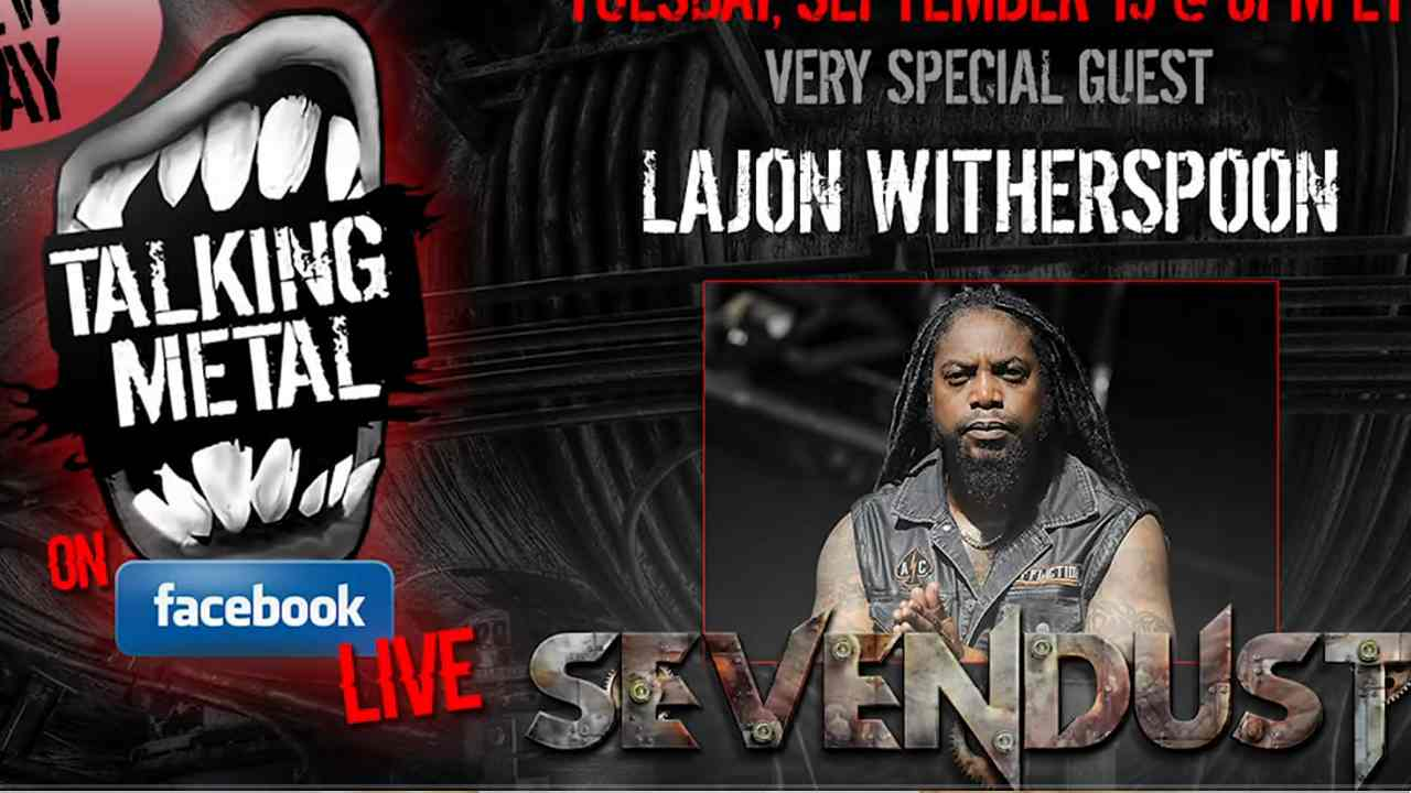 Sevendust's Lajon Witherspoon Talks Metal, His ER Visit and More