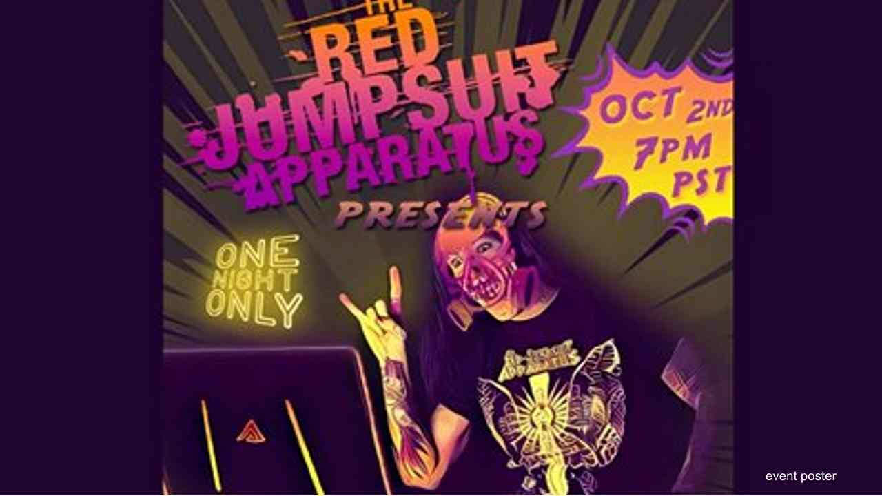 The Red Jumpsuit Apparatus Announce Special Livestream Concert