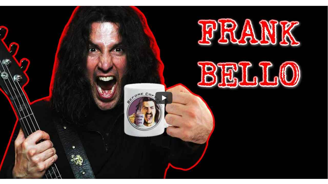 Anthrax's Frank Bello Plotting Heavy Rock Solo Debut Album