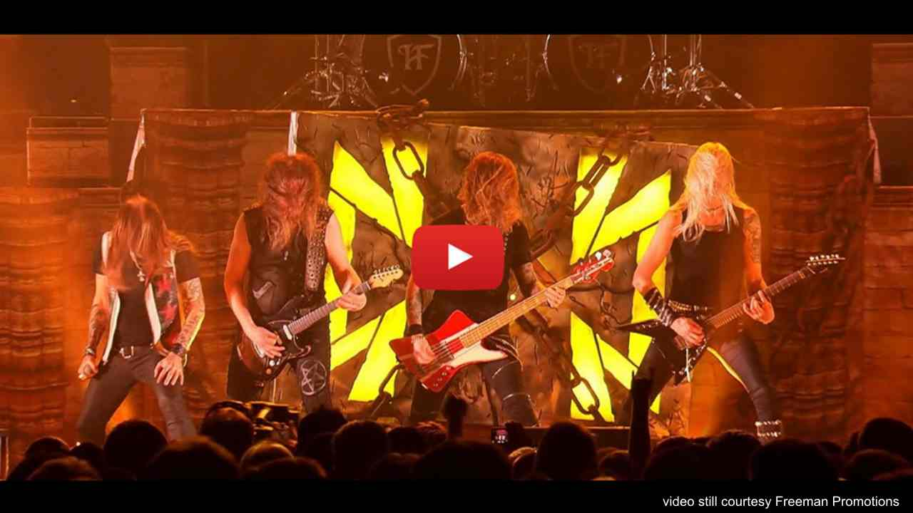 Hammerfall Release 'Keep The Flame Burning' Live Video