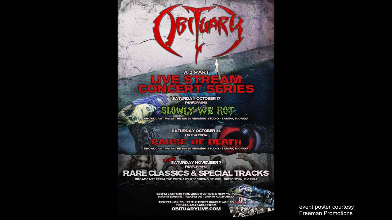 Obituary Launching Special Livestream Series