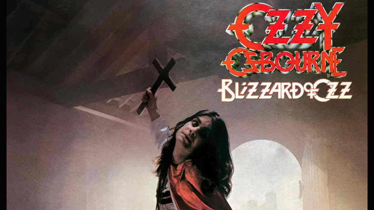 Ozzy Osbourne In The Studio For 'Blizzard' 40th Anniversary