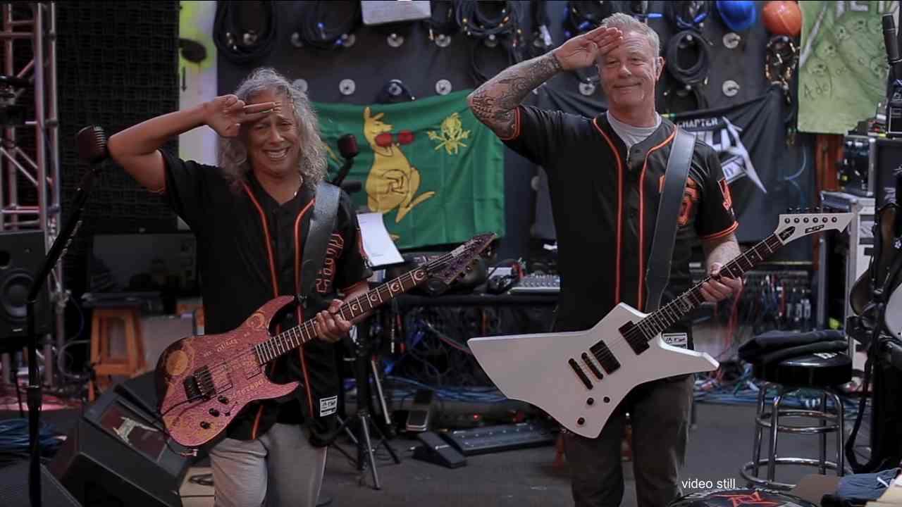 Metallica Rock National Anthem For Giants Vs Rockies Game