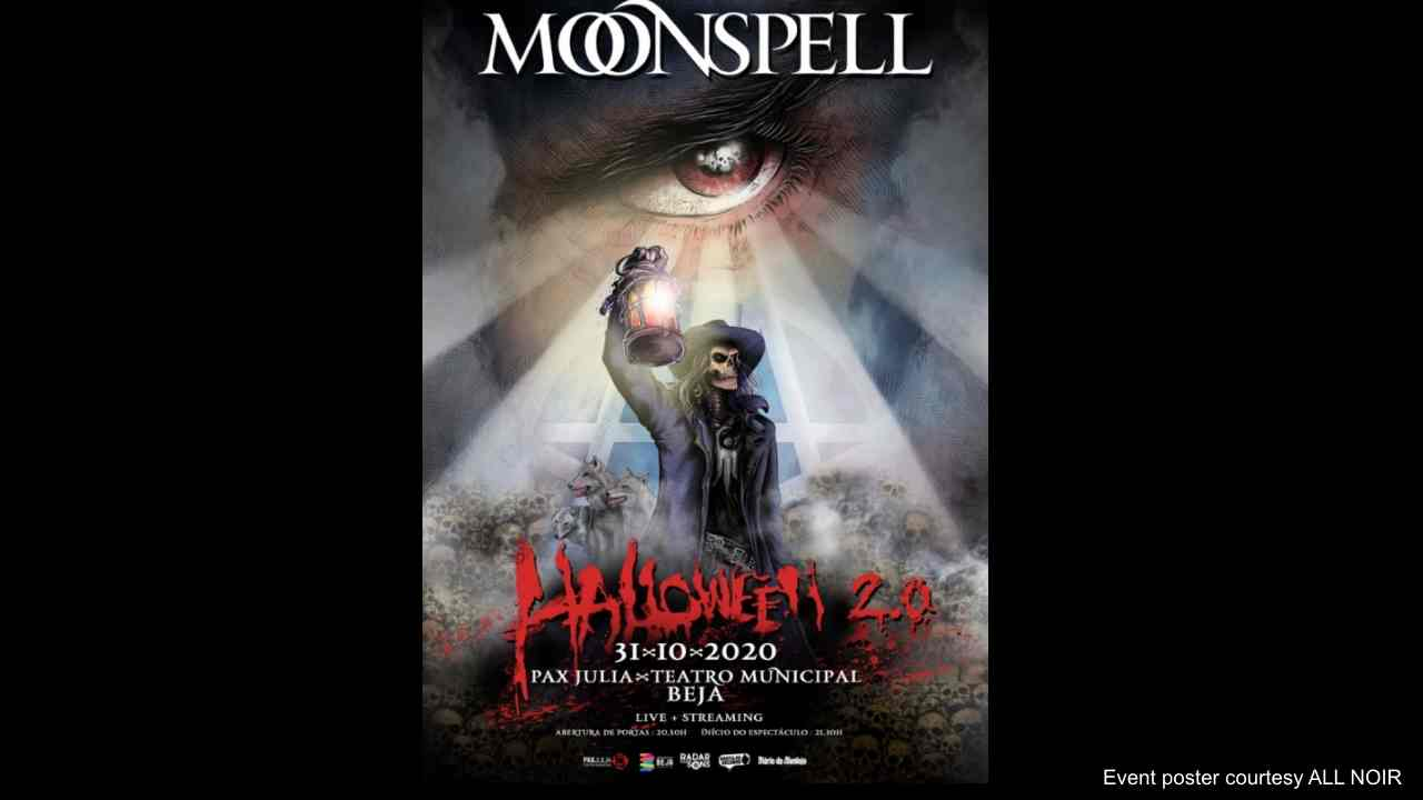 Moonspell Announce Intimate Halloween Show