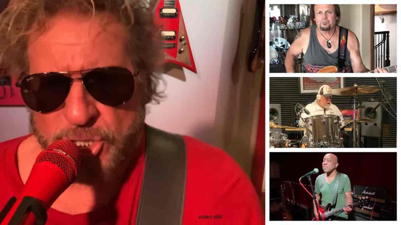 Sammy Hagar Jams Wabo Classic For Lockdown Sessions
