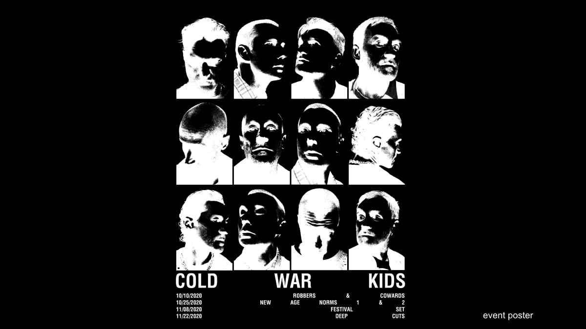 Cold War Kids Launching Virtual Tour