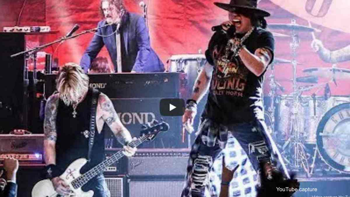 Guns N' Roses Streaming 2016 Mexico City Concert Footage