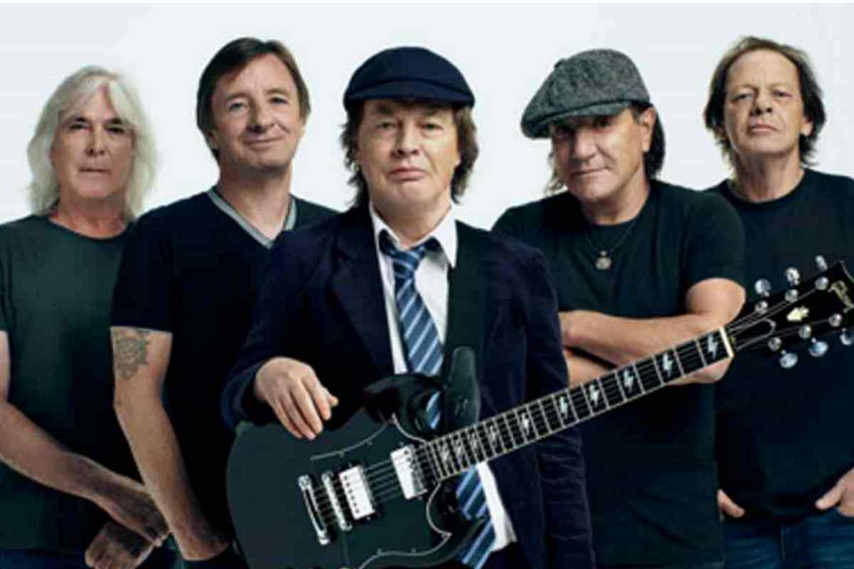 AC/DC's Angus Young Recalls Terrifying First Time 2020 In Review