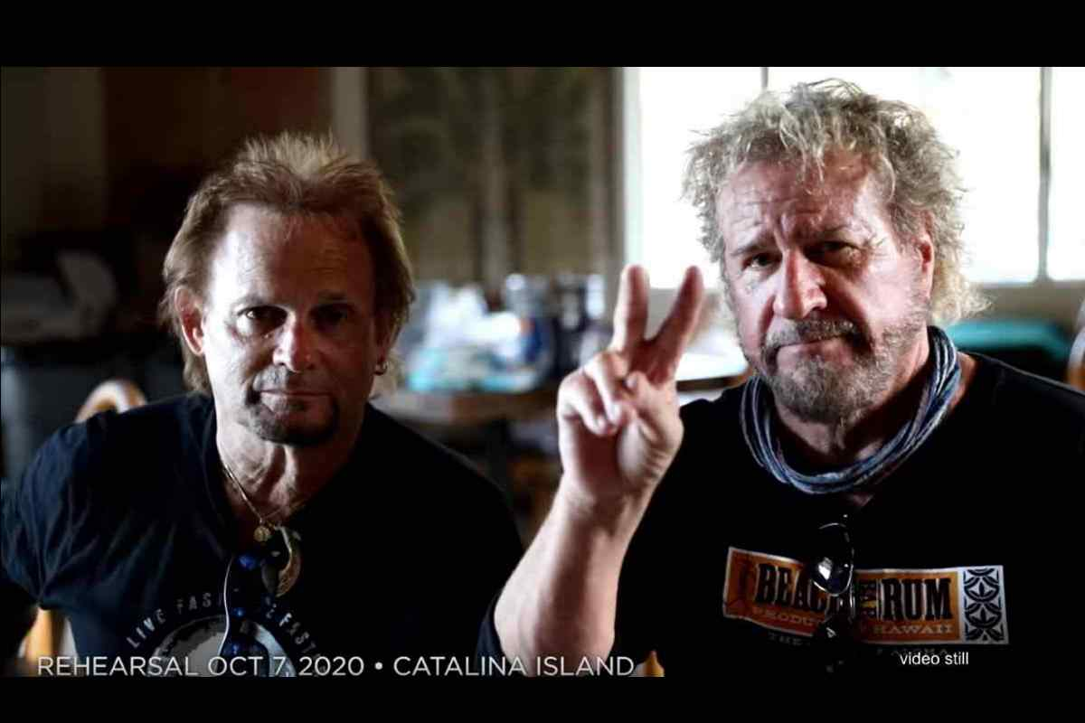 Sammy Hagar and Michael Anthony Tribute Eddie Van Halen2020 In Review
