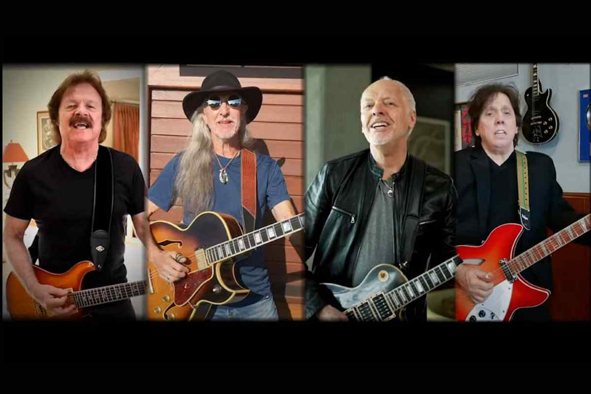 Frampton And The Doobie Brothers Teamed Up For Isolation Jam2020 In Review