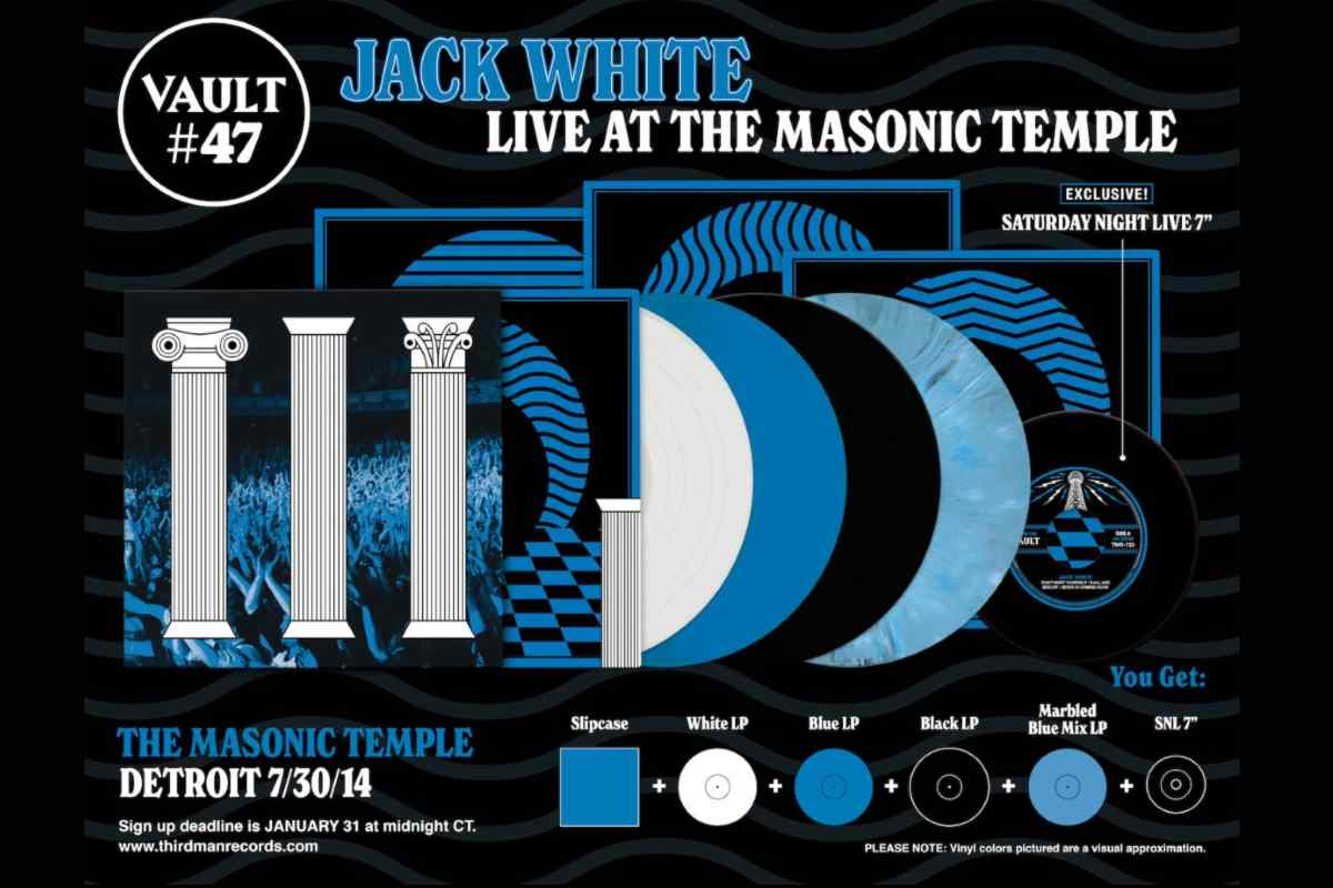 Jack White Streaming Song From New Live Package