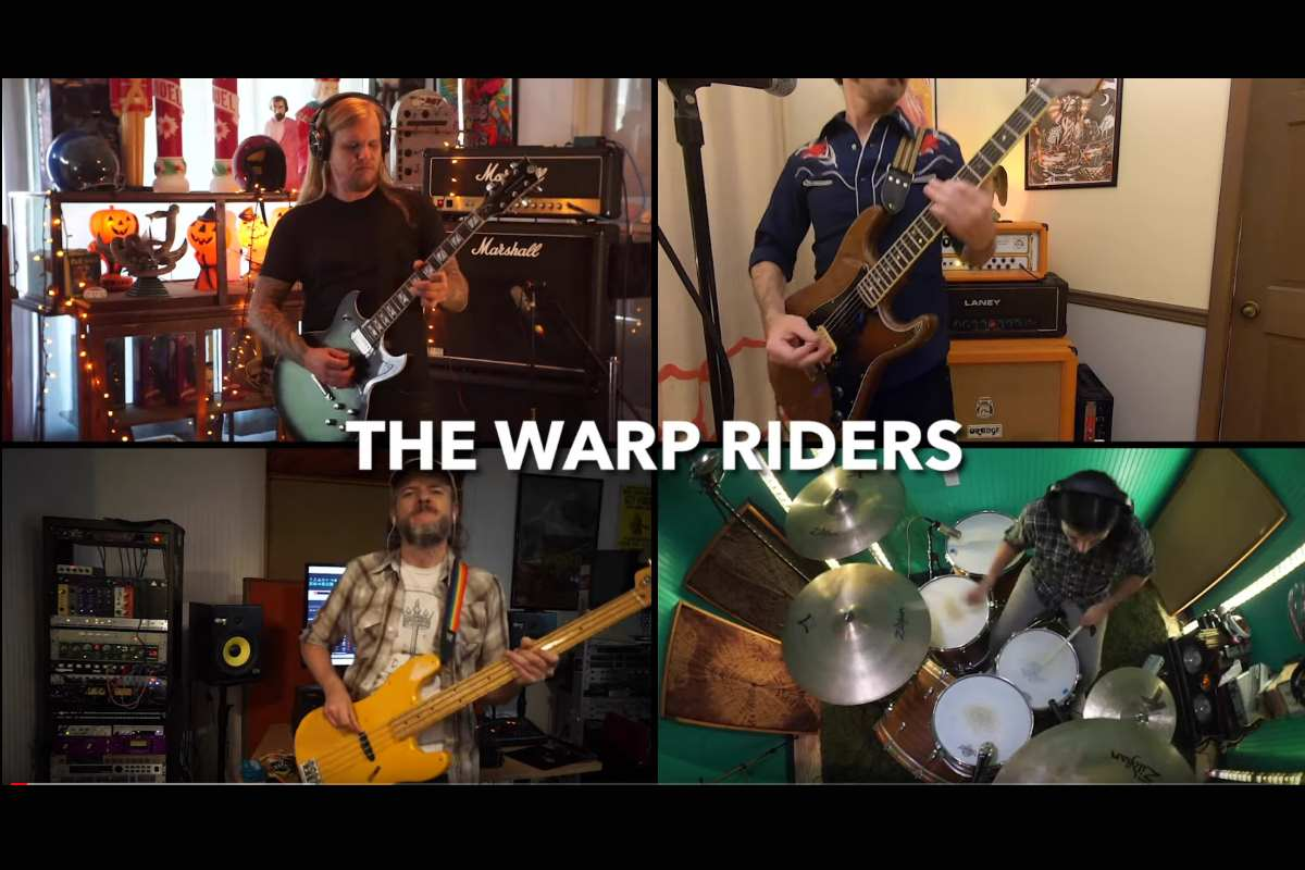The Sword Rock The Warp Riders For Lockdown Session