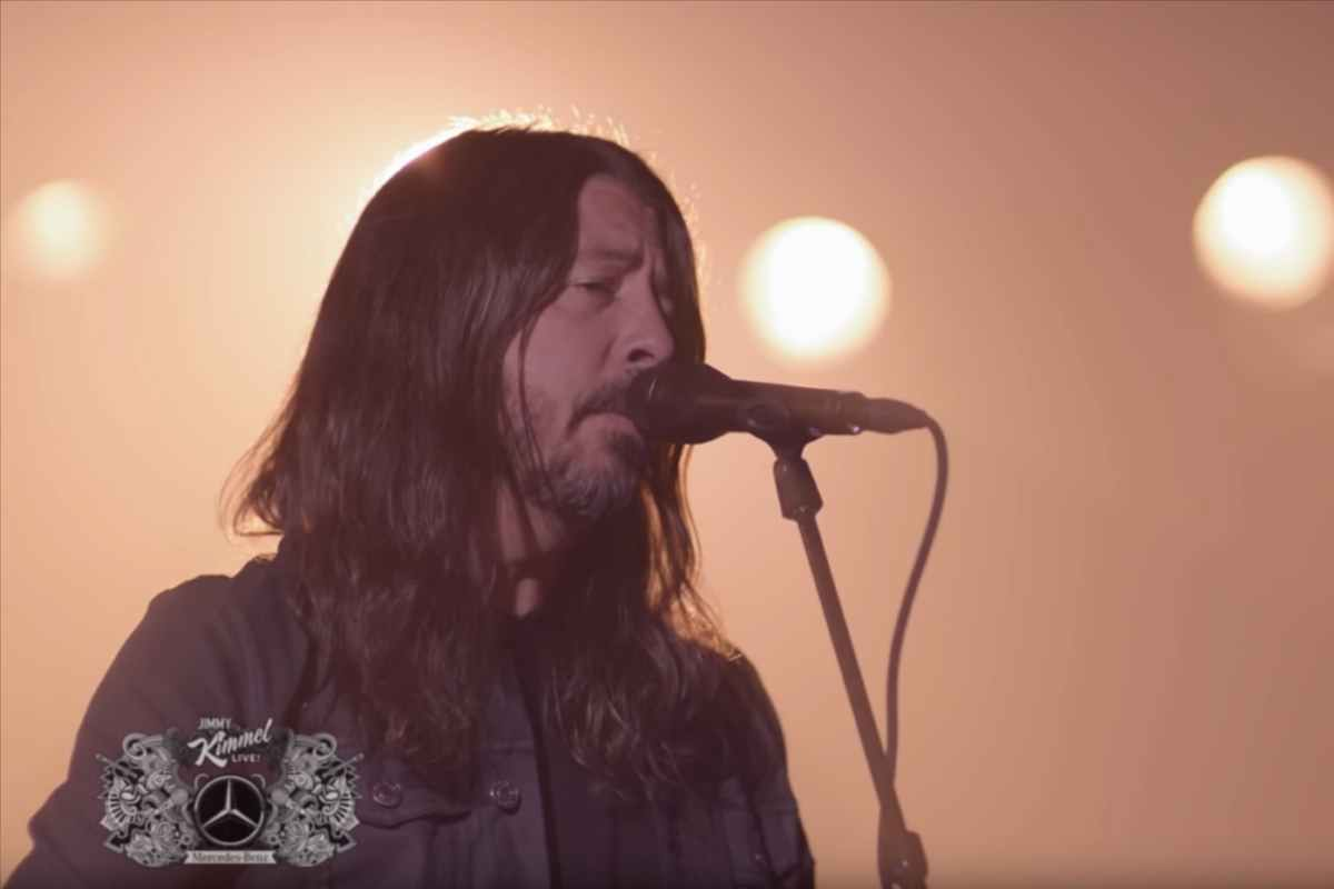 Foo Fighters Play Two New Songs For Jimmy Kimmel