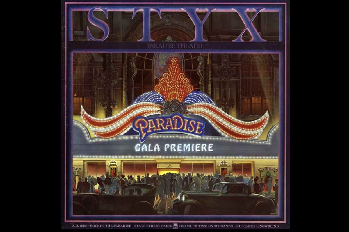 Styx In The Studio For Paradise Theatre's 40th Anniversary