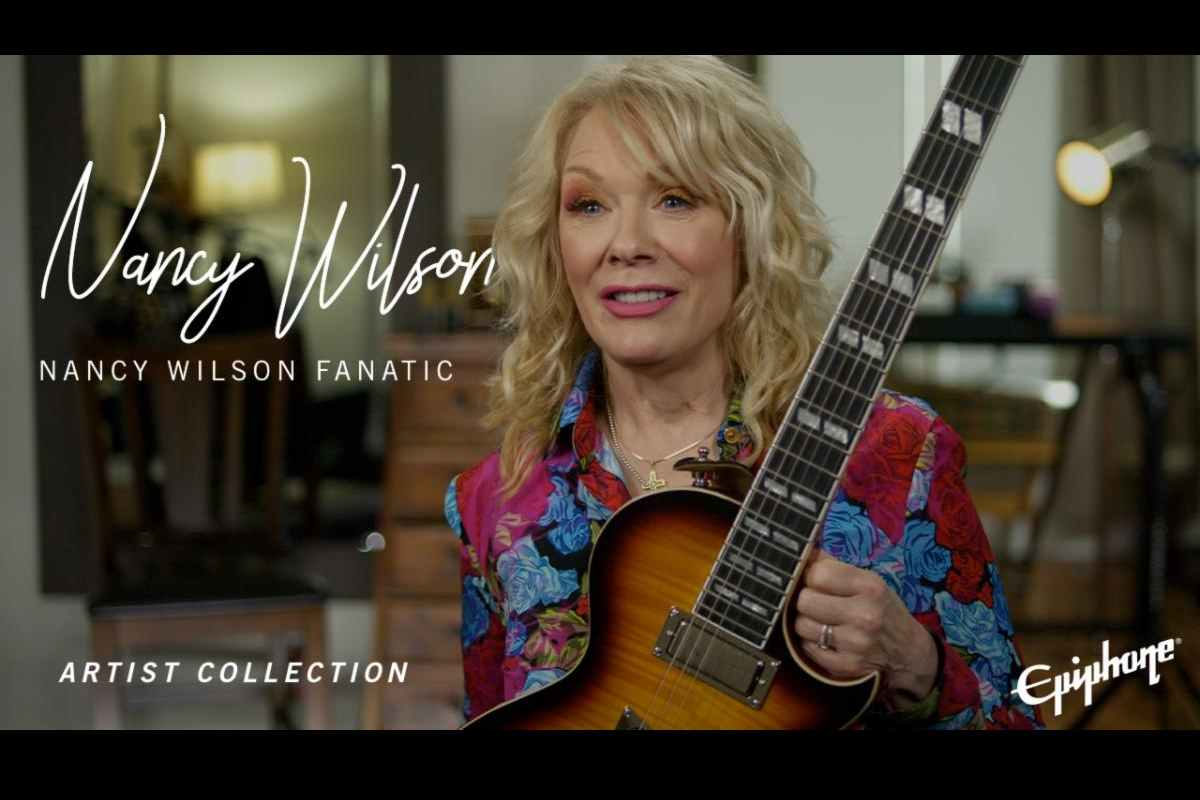 Heart's Nancy Wilson Teams With Epiphone For New Signature Guitar