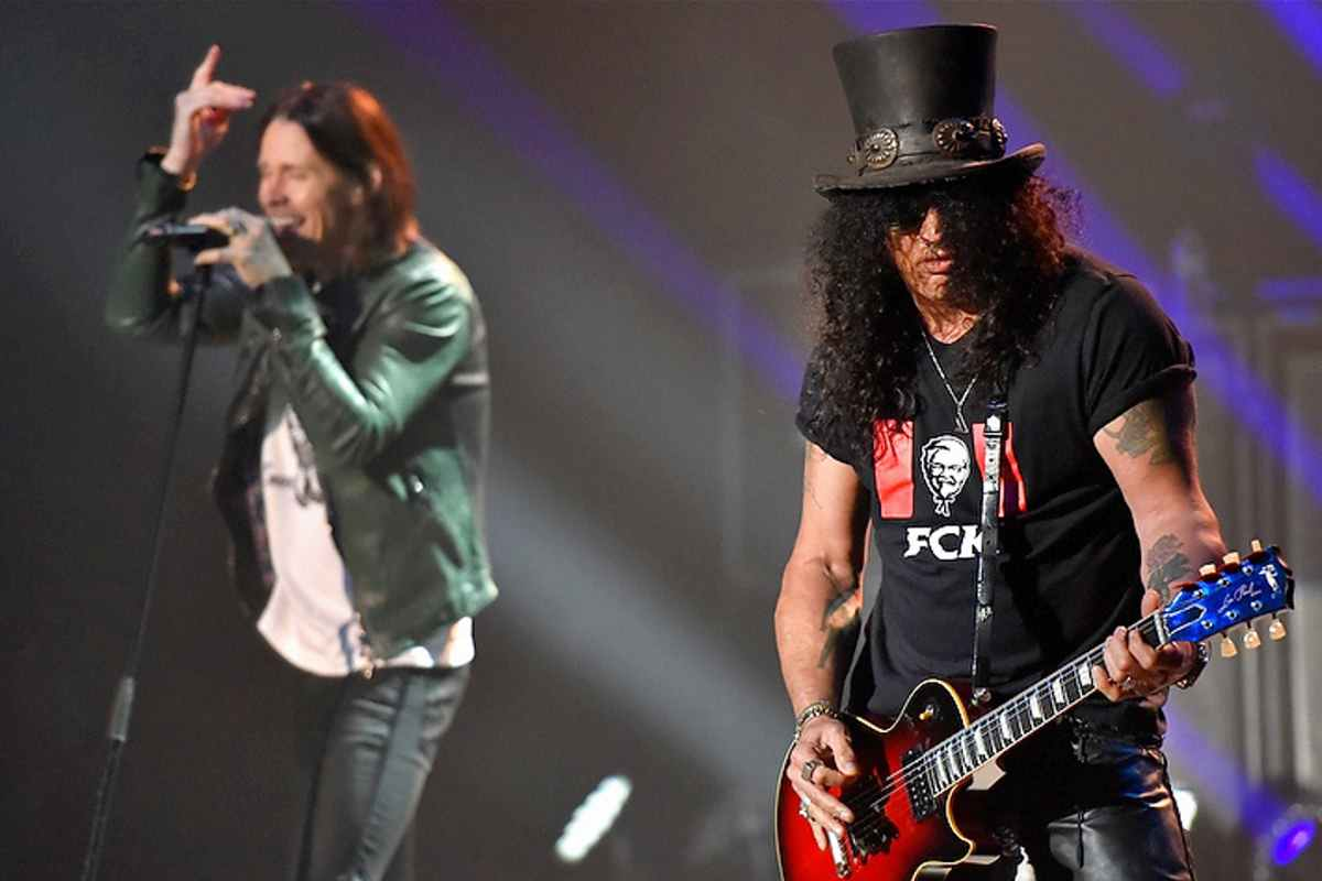 Guns N' Roses' Slash Taking Advantage Of Lockdown