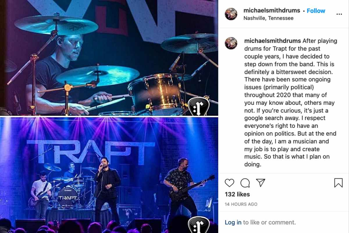 Trapt Member Quits The Band