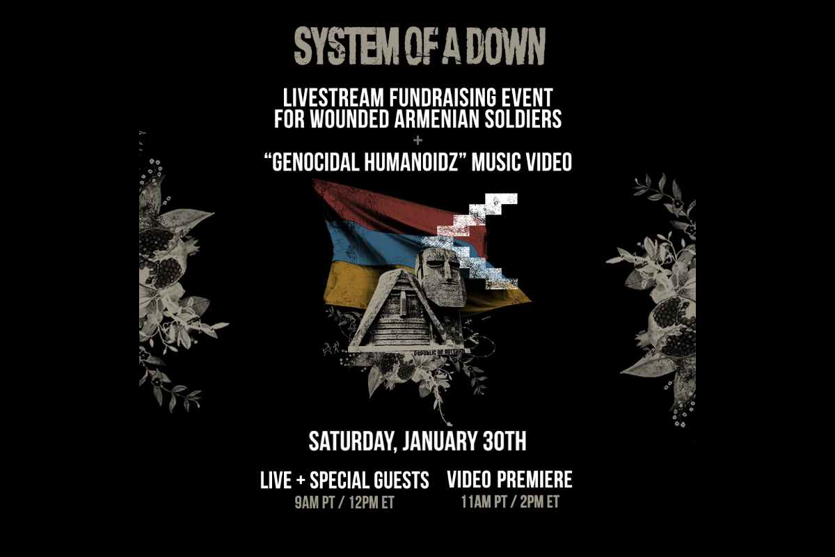 System Of A Down Announce Livestream and Video Premiere