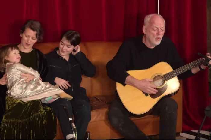 Pink Floyd's David Gilmour Shares 'Morning Has Broken' Performance