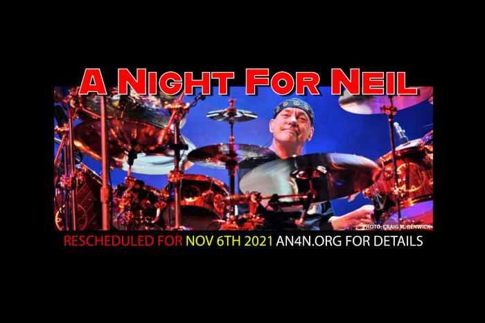 Rush Legend Neil Peart Tribute Event Postponed