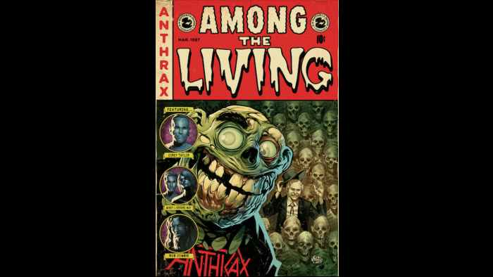 Anthrax 'Among The Living' Members Part Of Graphic Novel