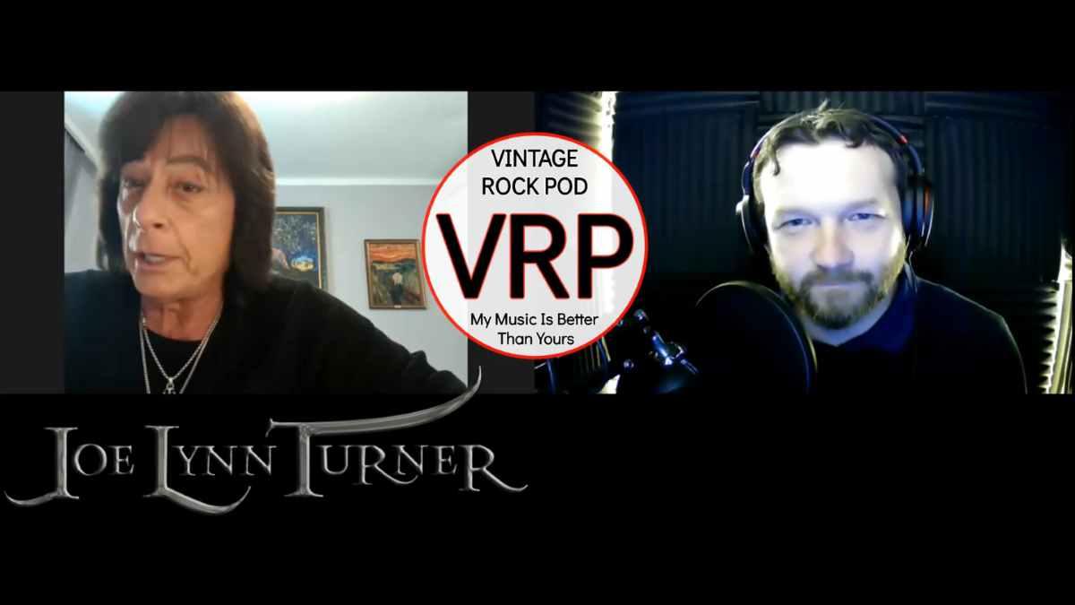 Rainbow Icon Joe Lynn Turner Working With Hypocrisy's Peter Tagtgren