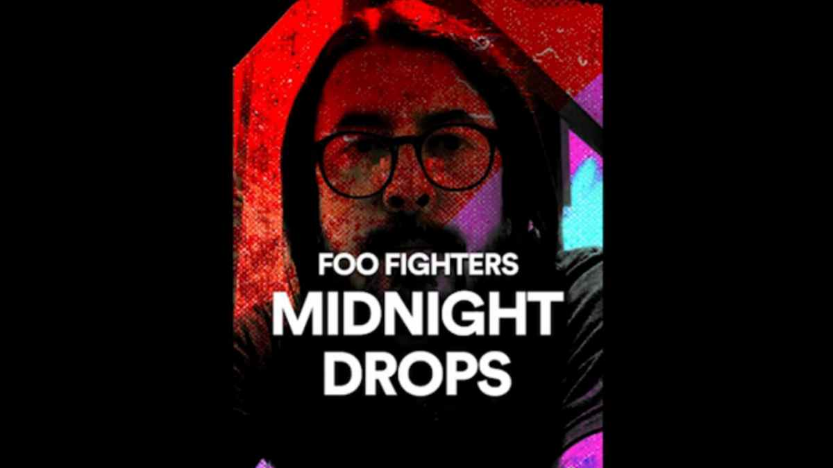 Foo Fighters Launch Midnight Drops Leading To Album Release